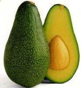 Avocado is known as the alligator pear.  Inside is a single hard seed.  Avocoado oil is cold pressed from the pulp of the avocado fruit.