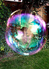 Bubbles can have beautiful rainbow colors inside!  Find fun tips and science experiments for kids!  Learn how to make a rainbow at home!