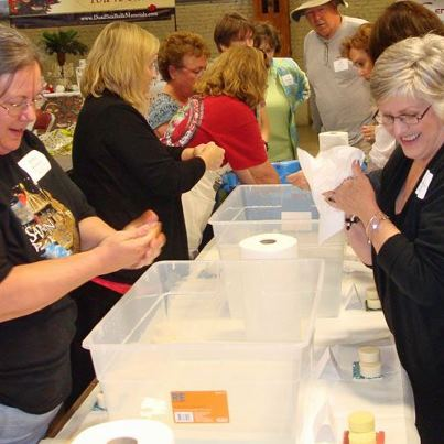 Do you enjoy making home crafts?  Are you looking for home based work?  Attend community functions and events!  These hobbyists and soap making business owners share creative ideas!