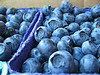 Bluberries are a small, round, sweet tasting, fruit.  They're loaded with antioxidants!  Lower LDL, improve memory, decrease belly fat and more!  Improve skin condition with blueberry recipes and homemade face mask!