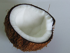 Discover benefits of coconut oil for skin, hair and scalp conditions!  Coconut oil contains vitamins A, E and K!  It is anti-microbial, anti-fungal and anti-viral.  It's rich in iron and choline!  It has antioxidants benefits!