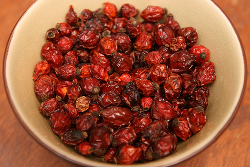 Dried rose hips can be ground, finely, for making homemade soap!  Find tips and soap recipes!