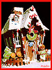 Powdered, dry, ginger is used as a flavoring for snacks inluding:   cakes, candy, cookies, crackers and bread.  This decorative gingerbread house can be delicious!