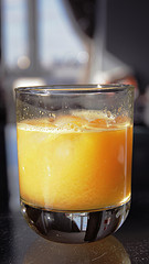 Orange juice has antioxidants benefits!  Reduce blood pressure, renew cells, boost immune system and more!