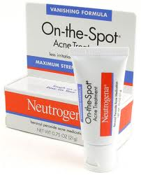 Neutrogena acne solution contains benzoyl peroxide.  Is it really safe to use on skin?
