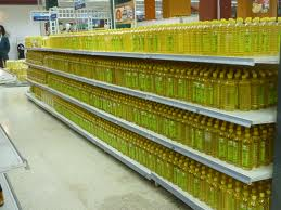 Soy oil is semi-clear, refined and cleaned.  It's a plant based oil, low in saturated fats with zero cholesterol.  Lower LDL, (bad cholesterol).  Firm skin!  CAUTION!  You may be using GM foods!