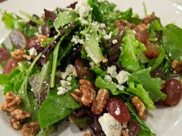 Eat a delicious salad topped with walnuts.  Walnuts are a power food!  Benefits of walnuts for the body, skin and hair!  DIY walnut recipes!